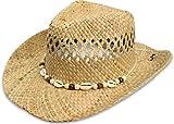 normani Westernhut Cowboyhut Hut Braun Strohhut Farbe Seashell