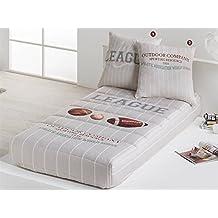 LaNovenaNube - Edredón Ajustable BEISBOL cama 80/90