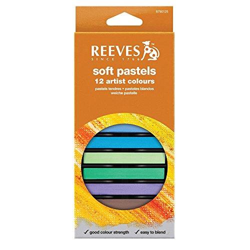REEVES 8790125 Set 12 Pastellkreiden