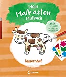 Mein Malkasten-Malbuch - Bauernhof: Einfach losmalen! Mit Pinsel und Wasserfarben