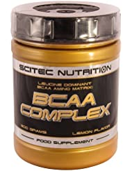 Scitec Nutrition BCAA Complex Lemon, 1er Pack (1 x 300 g)