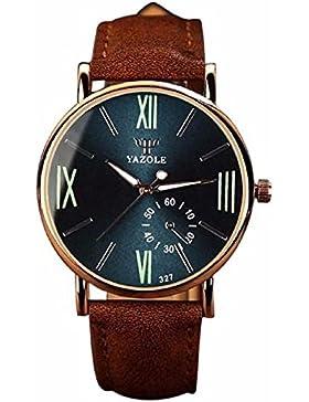 Armbanduhr,WINWINTOM Luxury Fashion Wristwatch Noctilucent Mens Glass Quartz Analog Watches