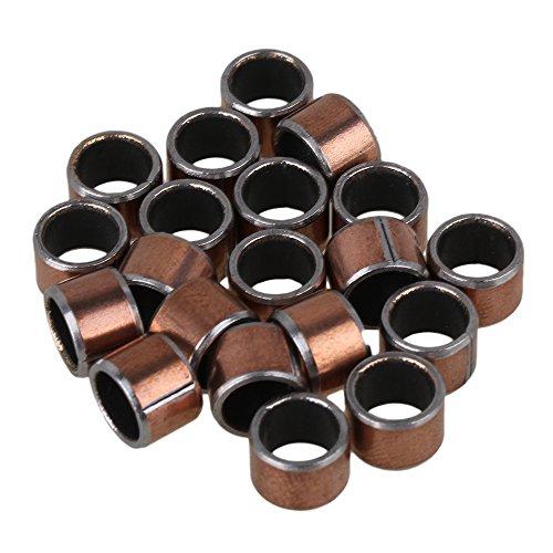 bqlzr Kupfer Farbe, sf-1Selbstschmierend verschraubt Composite Kugellager BUSCHING Sleeve 20Stück, gold, BQLZRN21033