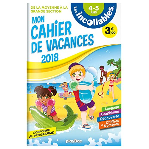 Cahier de vacances Incollables - MS à GS