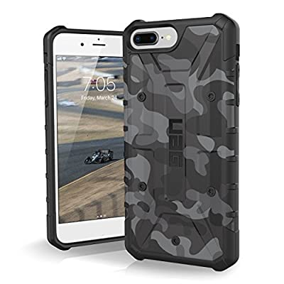 Urban Armor Gear Pathfinder per Apple iPhone 8 Plus / 7 Plus / 6S Plus Custodia protettiva Cover con standard militare americano case [Compatibile con il Qi wireless] – nero (camo)