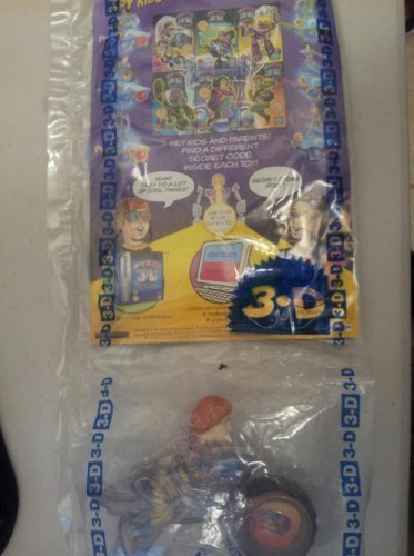 Unbekannt McDonald's Happy Meal Spy Kids 3-D Juni on Cycle Toy w/3-D Comic and Glasses #2 2003 by McDonald's - Kids 3d Spy
