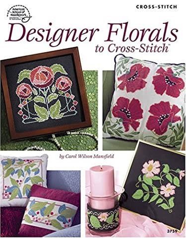 Designer Florals to Cross Stitch 3759