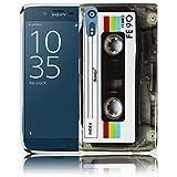 Sony Xperia XZ - Kassette Silikon Schutz-Hülle weiche Tasche Cover Case Bumper Etui Flip smartphone handy backcover Schutzhülle Handyhülle thematys®