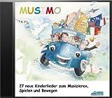 Mein MUSIMO - Lieder-CD: Die fröhliche Liedersammlung aus MUSIMO 1 und 2 - zum Singen, Bewegen und Spielen.