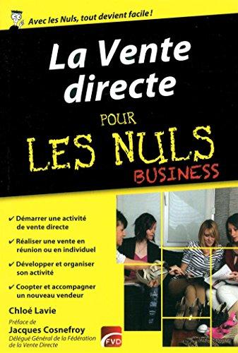 La Vente directe pour les Nuls Business par Chloé Lavie