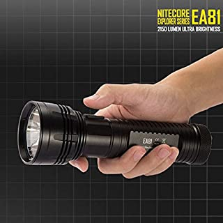 ADAALEN Nitecore EA81 4 x CREE XHP50 2150LM Outdoor LED Flashlight 462M