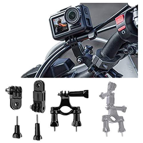 Lenker-Fahrradhalterung für DJI OSMO Action für GoPro Hero 7, 360-Grad-Rotation, Befestigung , Mountainbike-Halterung Bike Handlebar Seatpost-Halterung für Rohre mit 2 bis 4 cm -