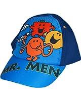 Boys MR Men Mr Tickle Strong Happy Bump Summer Baseball Cap
