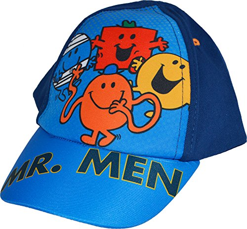 Motif Monsieur Madame-Monsieur Chatouille-chocs robuste Happy Summer Casquette de Baseball Bleu - Bleu