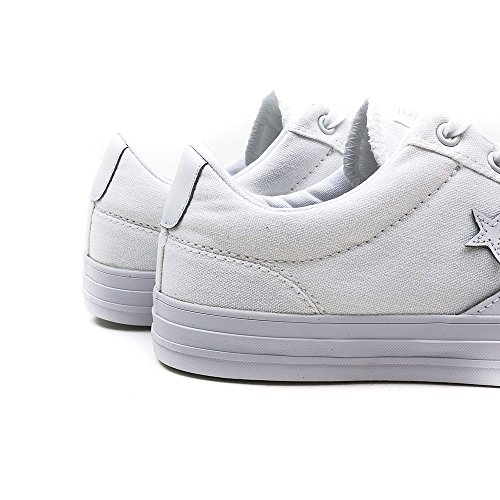 Hommes Converse Star Player Ox Chuck Taylor All Star Faible Formateur Blanc (Blanc)