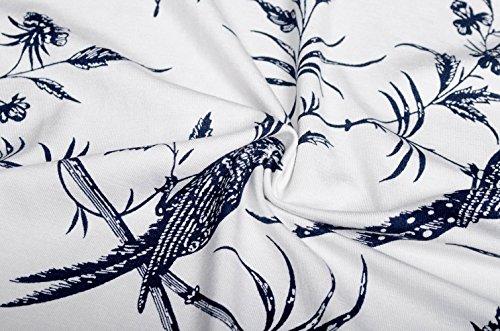 KorMei Damen Ärmelloses Beiläufiges Strandkleid Sommerkleid Tank Kleid Ausgestelltes Trägerkleid Knielang Weiß