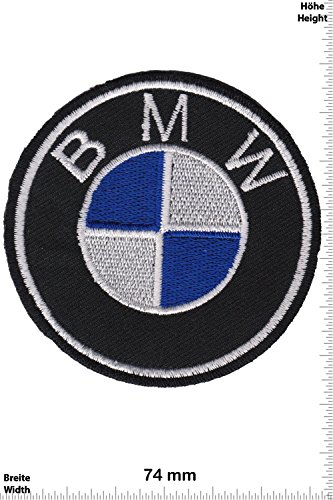 Patch - BMW - Logo - rund - Auto - Motorsport - Racing Car Team - Patches - Aufnäher Embleme Bügelbild Aufbügler (Team-logo-patch Runde)