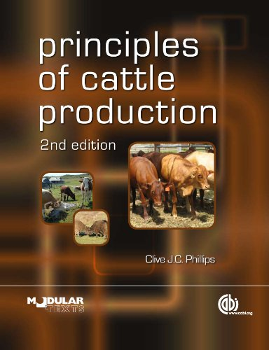 Principles of Cattle Production (Modular Texts) (English Edition)