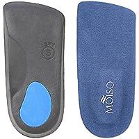 MOISO Premium 3/4 Länge Orthotic Einlegesohlen mit Bogen Unterstützungen zur Linderung Fuß Schmerzen für Männer... preisvergleich bei billige-tabletten.eu