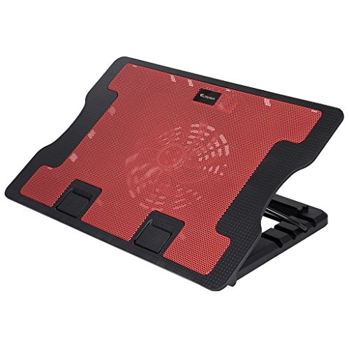 iConnect World Laptop Cooling Pad 638 (RED) for all laptop with usb cable, Foldable  available at amazon for Rs.1039