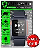 ScreenKnight® Pebble 2 Screen Protector [Pebble 2 SE Screen Protector] - Military Shield X 6 Pieces