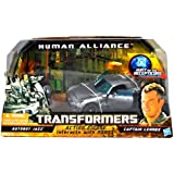 Transformers Human Alliance Autobot Jazz mit Captain Lennox Figur - Voyager Class