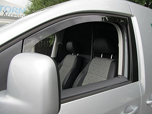 VW Caddy 2004 onwards Wind Deflectors / Rain Shields INTERNAL FIT (24025)