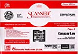 Scanner CS Executive Programme Module - I (2017 Syllabus) Paper - 2 Company Law