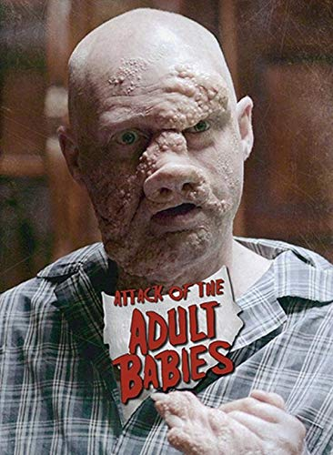 Attack of the Adult Babies - Uncut - Limited Uncut Edition (+ DVD), Cover C [Blu-ray]