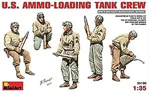 MiniArt 1: 35Escala Kit de Modelo de plástico US Ammo-Loading Crew (Gris)