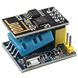 Haljia ESP8266 esp-01s wireless seriale + DHT11 temperatura umidità monitor Compatibile con Smart Home Iot Arduino kit fai da te