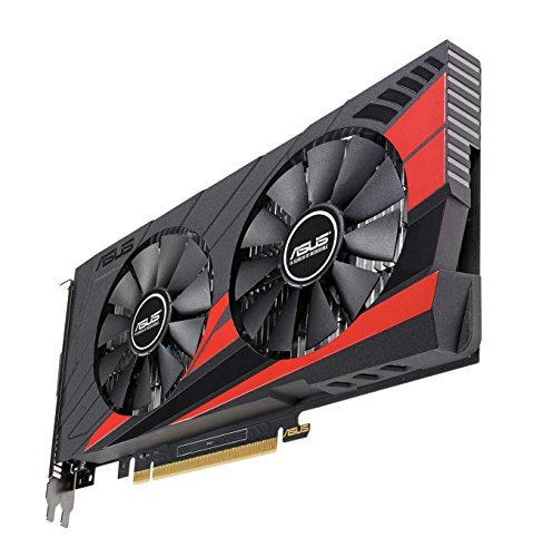 Asus EX-GTX1050TI-4G Gaming Nvidia GeForce Grafikkarte (PCIe 3.0, 4GB DDR5 Speicher, HDMI, DVI, DisplayPort)