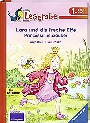 Lara und die freche Elfe. Prinzessinnenzauber (Leserabe - 1. Lesestufe)