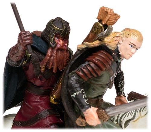 Lord of the Rings Armies of Middle Earth: Legolas & Gimli on Horseback Figure 1/24 Scale 2