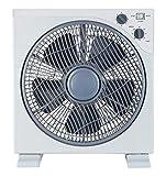 Ardes AR5B29 Ventilatore Box Floor 29, 3 velocità di Rotazione, Timer, Griglia Rotante, Bianco, Pala 30 cm