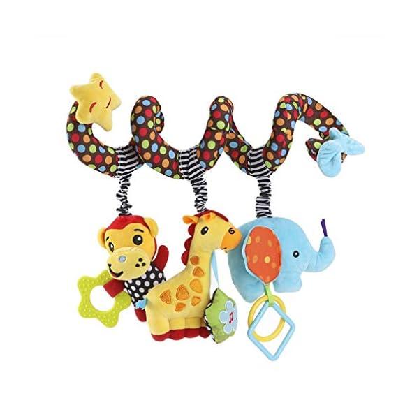 Juguete Colgantes Espiral del Animales para Cochecito,Cama