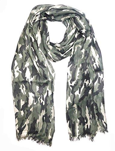 Sri Belha Fashions Army Design Camo Kerchief Military Army Headscarf Outdoor Breathable Neckerchief Scarf Stole