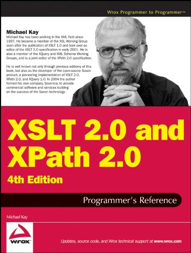 XSLT 2.0 and XPath 2.0 Programmer's Reference (Programmer to Programmer) por Michael Kay