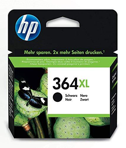 HP 364XL Schwarz Original Druckerpatrone mit hoher Reichweite für HP Photosmart, HP Officejet, HP Deskjet