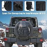 Storage Bag for Wrangler JK YJ TJ SUV with Multi-Pockets & Organizers &Cargo Bag Saddle bag Tool Kits Bottle Drink Phone Tissue Gadget Holder