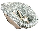 Bezug bei Ukje für Newborn set Stokke Tripp Trapp - Beschichtet - Abwaschbar - Mintgrün Baumblätter