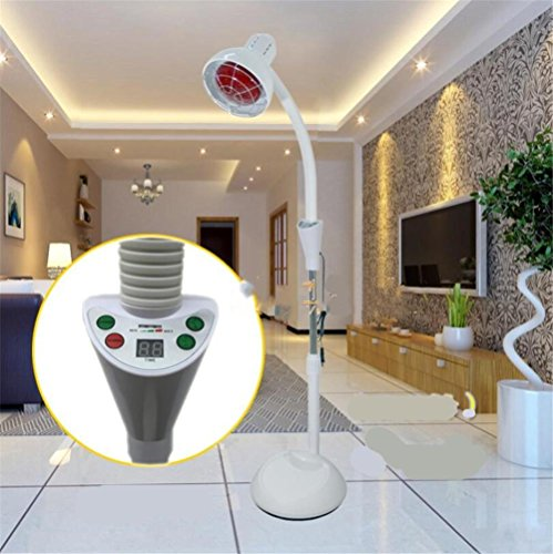 BIOFAMILY Infrarotlampe Gesundheitswesen Thermostat Back Lamp Körperpflege Lampe Familie Multifunktionale Lumbal Lampe 275 Watt , B -