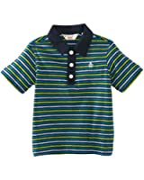 Original Penguin Short Sleeve Stripe 2 - 4 Polo Boy's T-Shirt