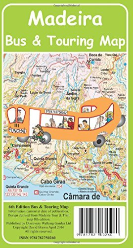 Madeira Bus & Touring Map by David Brawn (2016-03-23)