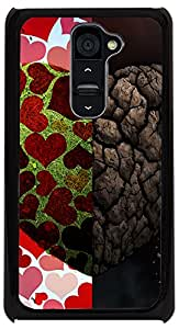 PrintVisa Love Heart Sort Hard Case Cover for LG G2