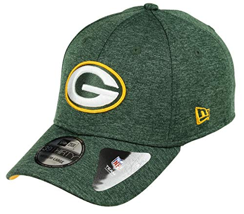 New Era Shadow Tech 39Thirty Cap Green Bay Packers Grün, Size:L/XL