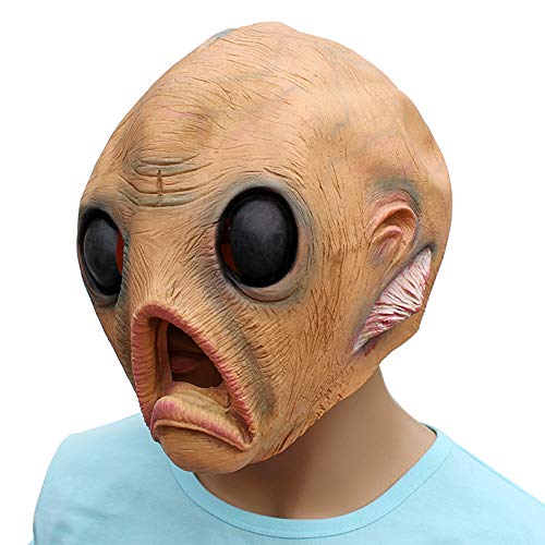 Latex Alien Maske - Alien Horror Maske, Latex Realstic Head