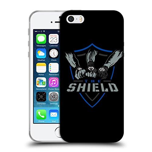 Head Case Designs Offizielle WWE The Shield 2017/18 Superstars Soft Gel Huelle kompatibel mit iPhone 5 iPhone 5s iPhone SE (Iphone 5s Wwe)