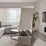 Aluminiumlegierung Rahmen Voller Länge Bodenspiegel Startseite Wand-Ankleidespiegel...