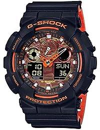 Casio Analog-Digital Brown Dial Men's Watch-GA-100BR-1ADR (G914)